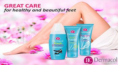GREAT CARE for healthy and beautiful feet