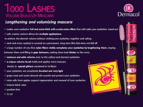 1000 LASHES VOLUME BUILD UP MASCARA