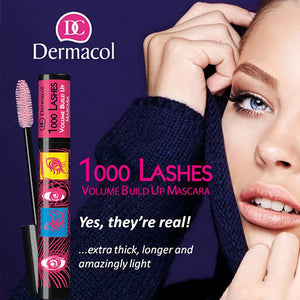 1000 LASHES VOLUME BUILD UP MASCARA - Dermacol Cosmetics