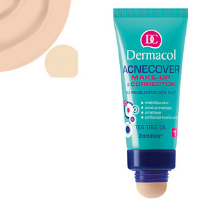 ACNECOVER MAKE-UP & CORRECTOR - Dermacol Cosmetics