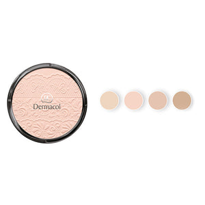COMPACT POWDER WITH LACE RELIEF - Dermacol Cosmetics