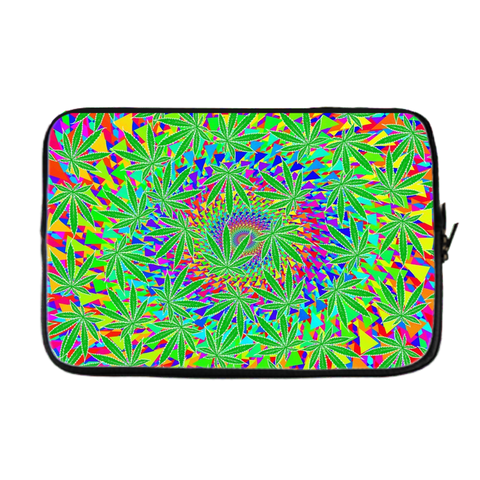 Reefer Madness Cannabis Leaf Laptop / Tablet Cover,Laptop Sleeve, Alliteration Apparel Clothing and Accessories