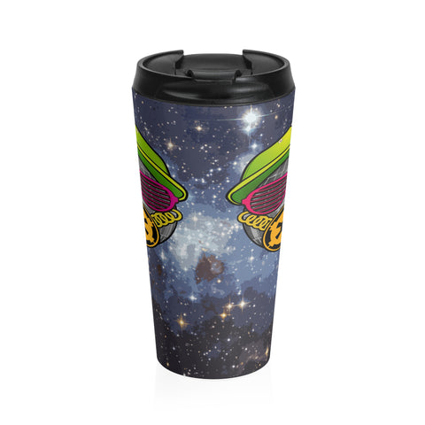 Fresh To Death Star Stainless Steel Travel Mug,Travel Mug, Alliteration Apparel Clothing and Accessories