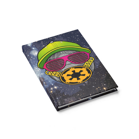 Fresh To Death Star Journal - Ruled Line,Notebooks / Journals, Alliteration Apparel Clothing and Accessories