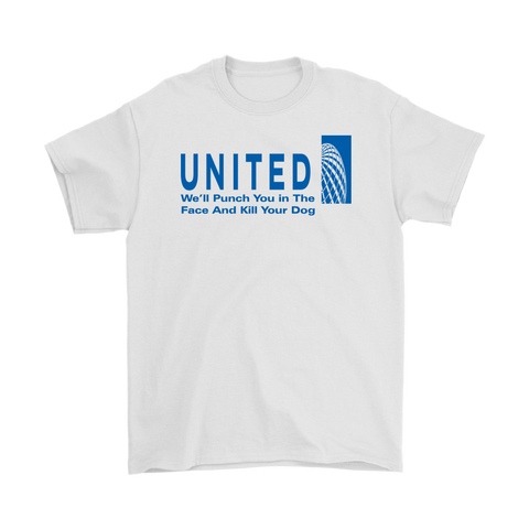 United Airlines Men's / Unisex T-Shirt,Men's / Unisex T-Shirts, Alliteration Apparel Clothing and Accessories