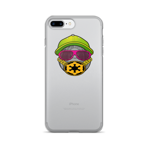 Fresh To Death Star Clear iPhone Case,Phone Case, Alliteration Apparel Clothing and Accessories