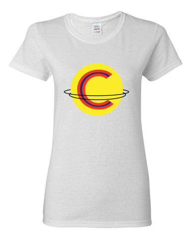Captain Save 'Em Logo Women's short sleeve t-shirt,Women's T-Shirts, Alliteration Apparel Clothing and Accessories