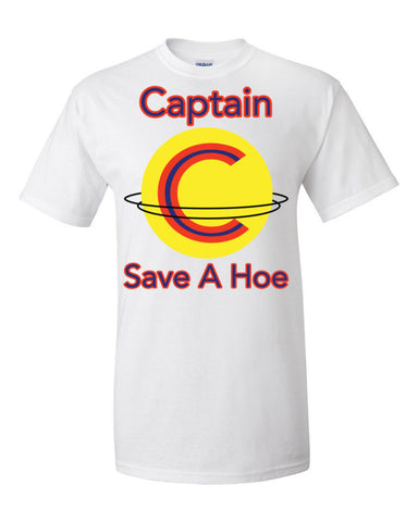 Captain Save A Hoe Men's Unisex Short sleeve t-shirt,Men's / Unisex T-Shirts, Alliteration Apparel Clothing and Accessories