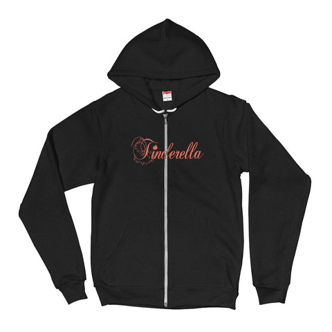Tinderella Zip Up Hoodie,Sweatshirt / Sweaters, Alliteration Apparel Clothing and Accessories