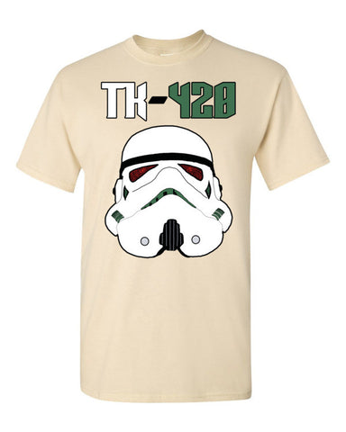 TK-420 Men's Unisex Short sleeve t-shirt,Men's / Unisex T-Shirts, Alliteration Apparel Clothing and Accessories