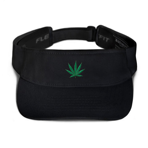 Cannabis Leaf Visor,Hats / Headwear, Alliteration Apparel Clothing and Accessories