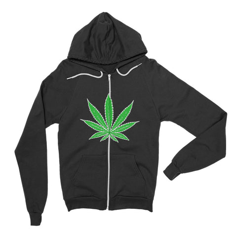 Cannabis Leaf Unisex Hoodie Sweater,Hoodie, Alliteration Apparel Clothing and Accessories