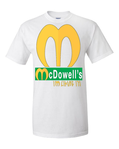 McDowell's I'm Liking It Men's / Unisex T-shirt (Coming to America),Men's / Unisex T-Shirts, Alliteration Apparel Clothing and Accessories