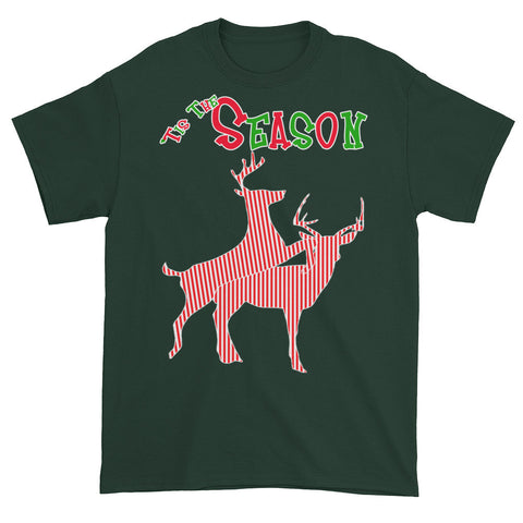 'Tis The Season - Humping Deer Men's / Unisex T-shirt,Men's / Unisex T-Shirts, Alliteration Apparel Clothing and Accessories