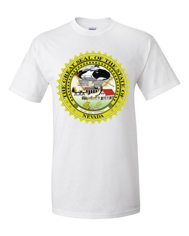 $tate Seal of New Mexico Men's Unisex Short sleeve t-shirt,Men's / Unisex T-Shirts, Alliteration Apparel Clothing and Accessories