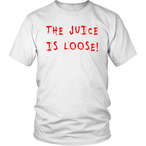 The Juice Is Loose Men's Unisex T-Shirt,Men's / Unisex T-Shirts, Alliteration Apparel Clothing and Accessories
