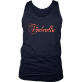 Tinderella Men's / Unisex Tank Top,Men's / Unisex Tank Top, Alliteration Apparel Clothing and Accessories