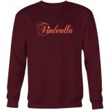 Tinderella Sweatshirt,Sweatshirt / Sweaters, Alliteration Apparel Clothing and Accessories