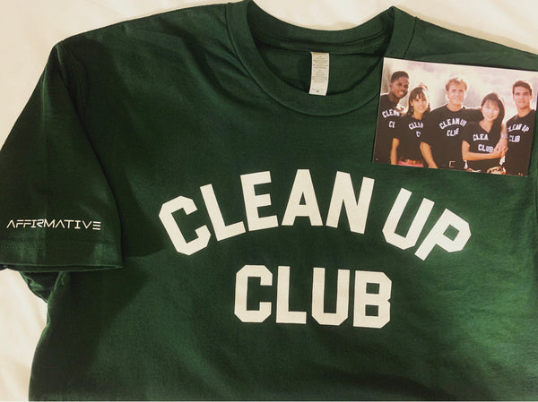 """Clean up club"" Commemorative Tee"