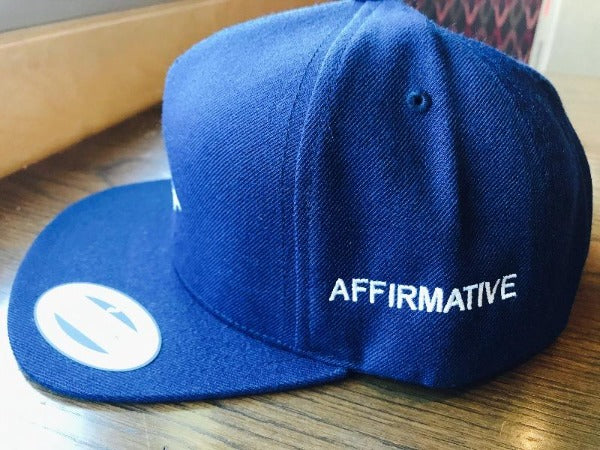 "Affirmative ""Tricera Blue"" Hat"