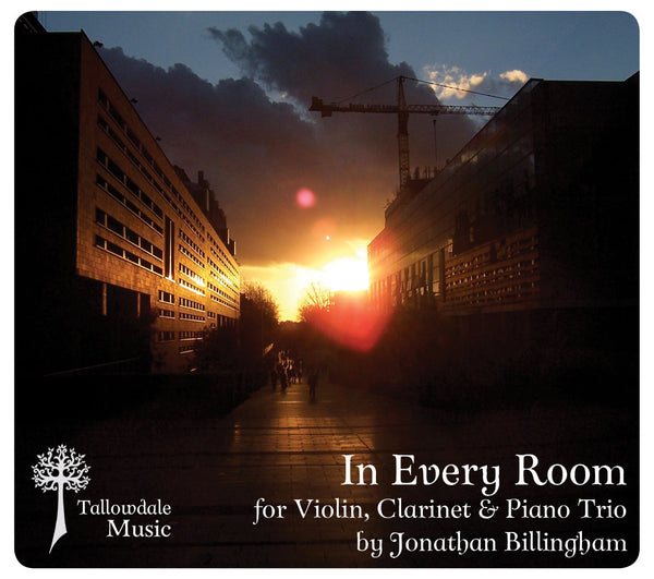 'In Every Room' for Violin Clarinet & Piano Trio (Score & Parts)