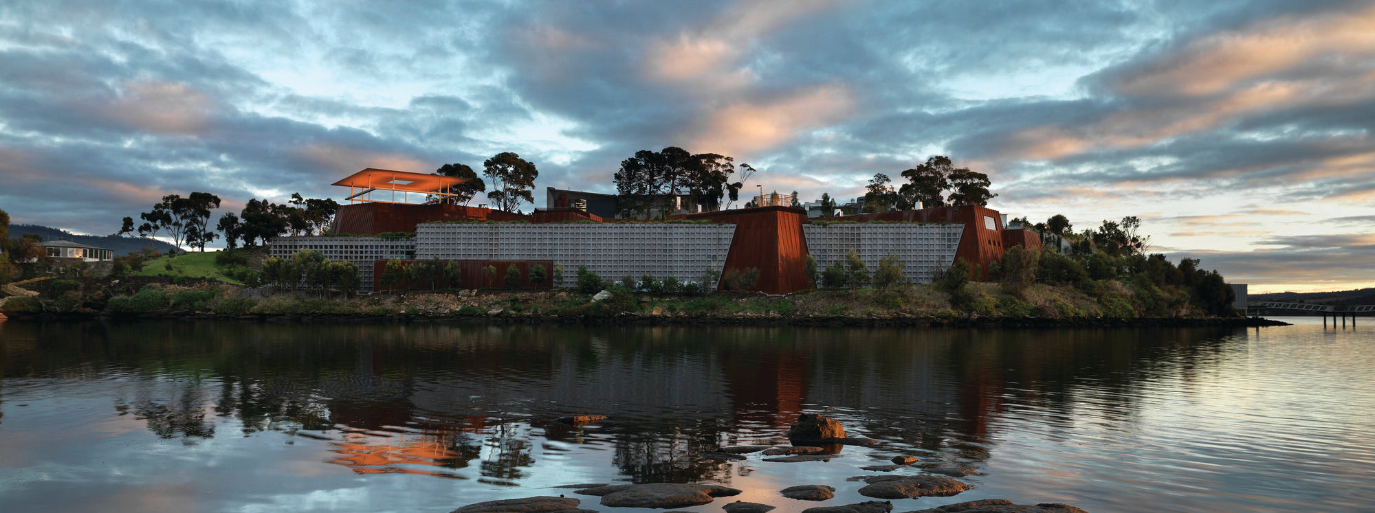 Mona Museum of old and new art tourism tasmania david walsh