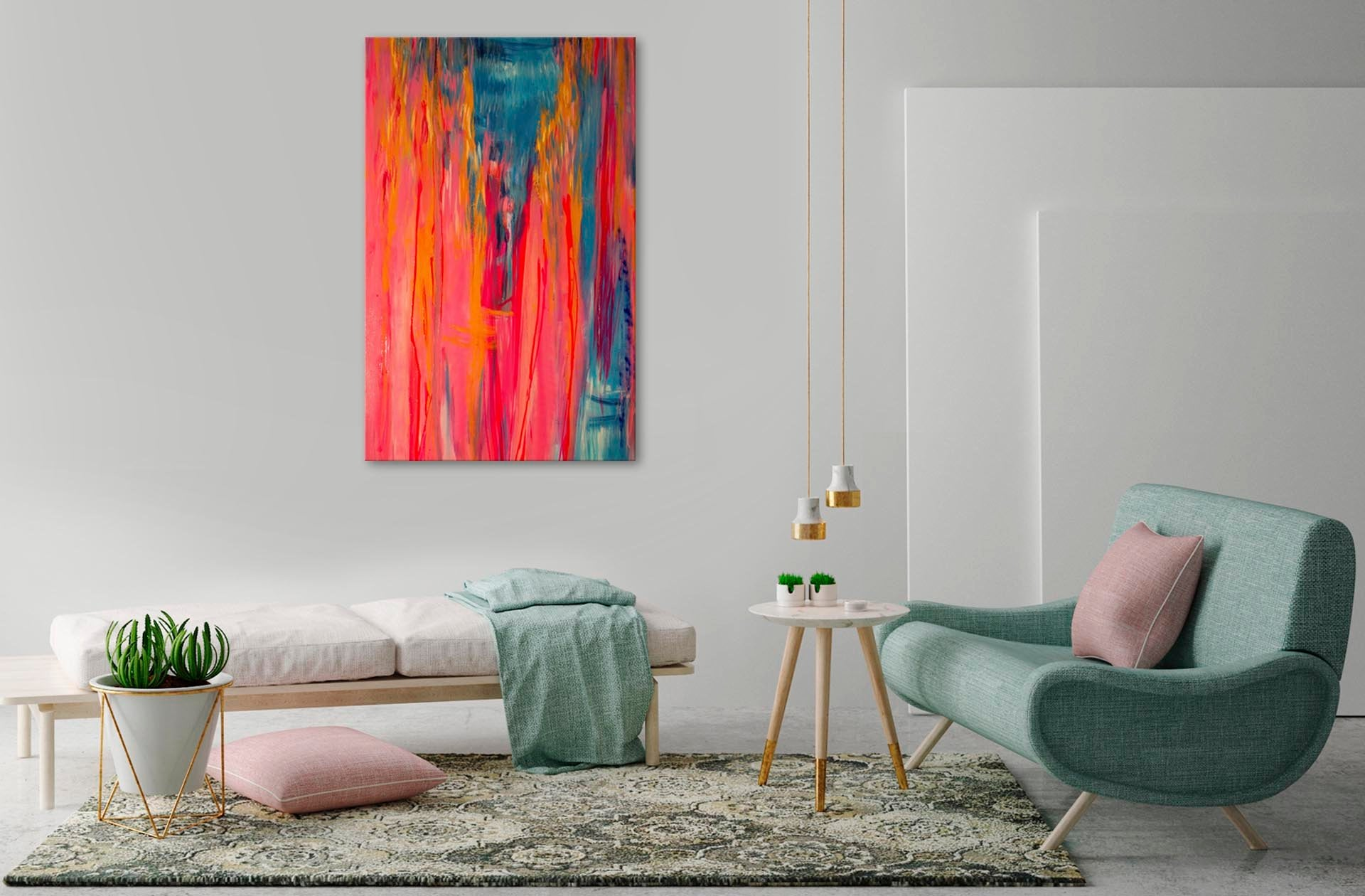 Let us help find art for your home with our free bespoke art visualisation service