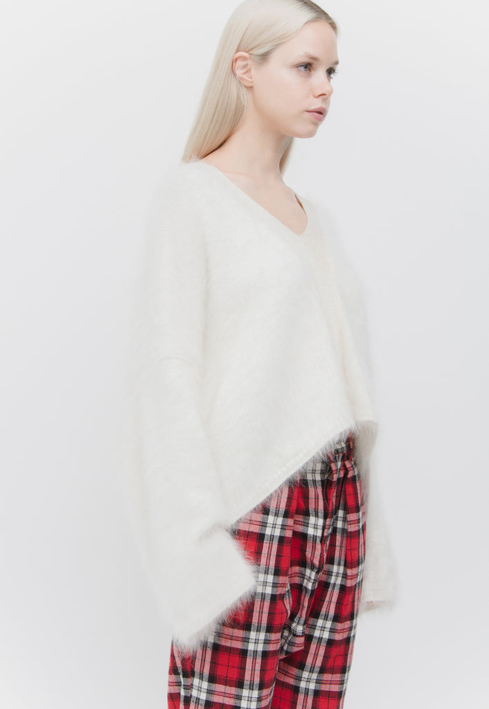 ANGORA & WOOL SWEATER