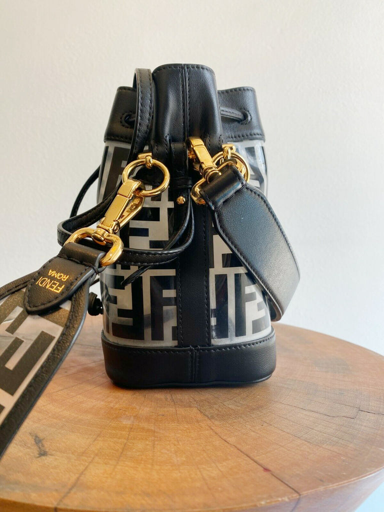 MINI MON TRESOR PVC BUCKET BAG