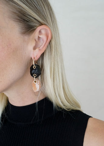 MARBLE RESIN EARRINGS