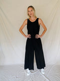 BLACK PALMA JUMPSUIT