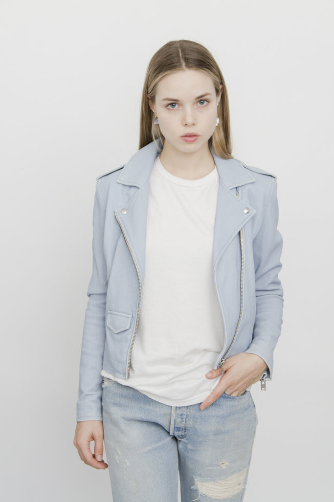 BABY BLUE ASHVILLE  JACKET