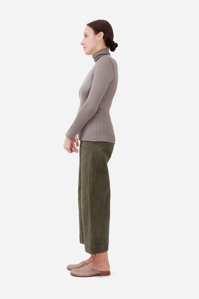 OLIVE SAILOR PANTS