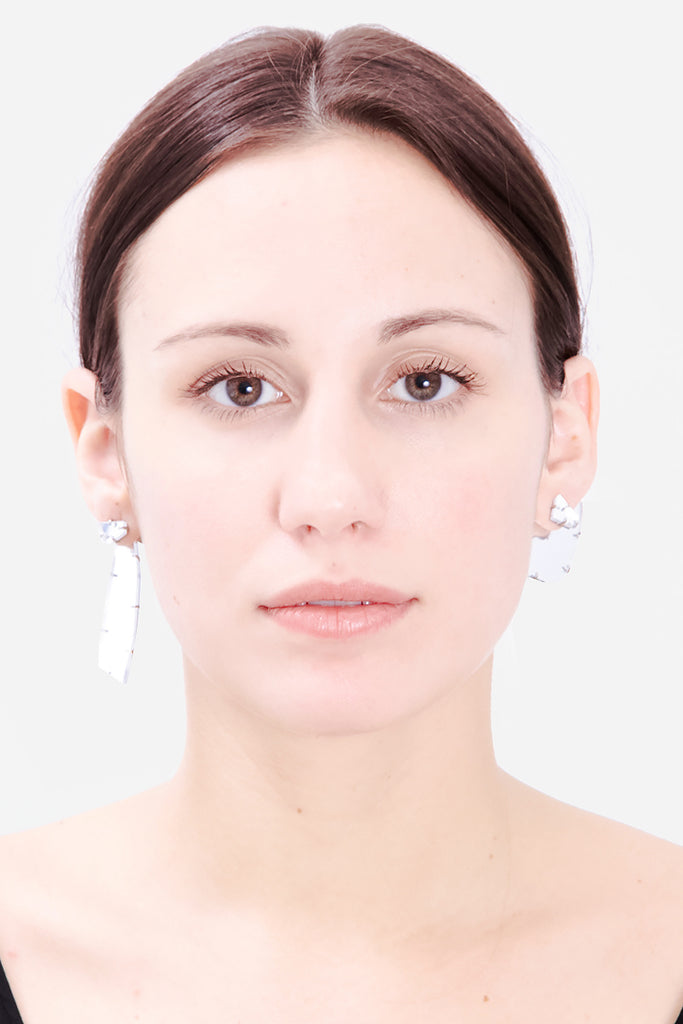 ASYMMETRIC MIRROR EARRINGS