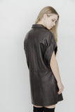 ZAMA LEATHER DRESS