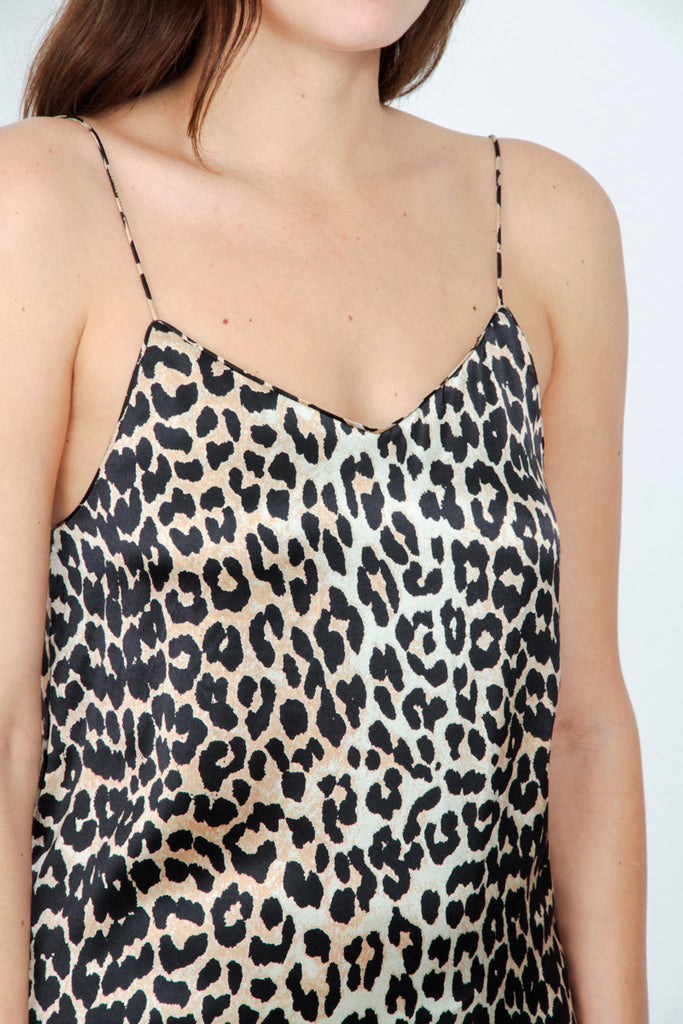 DUFONT LEOPARD PRINT DRESS