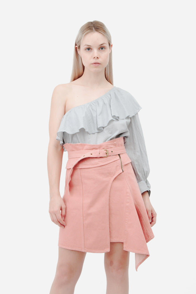 EYDIE ASYMMETRIC SKIRT WITH TAGS