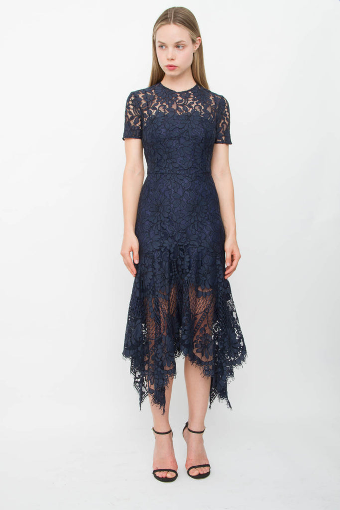 HALO HANKY LACE DRESS