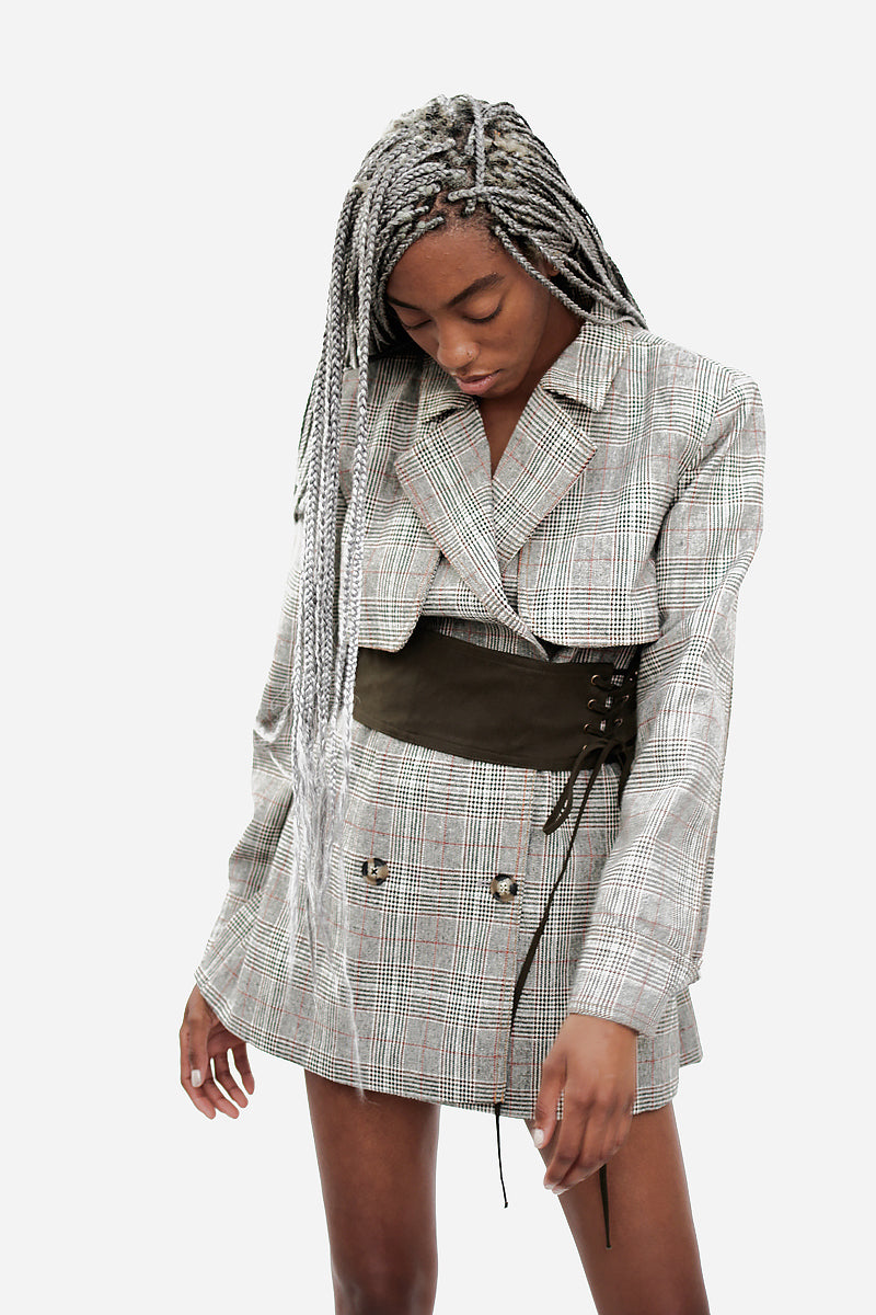 CORSET JACKET WITH TAGS