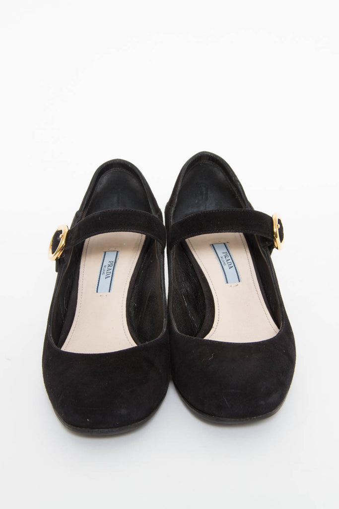 CURVED MARY JANES