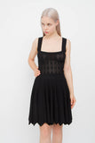 MANTILLE KNIT DRESS