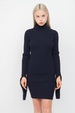 EXAGERRATED SLEEVE SWEATER TOP