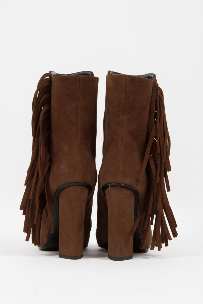 ALABAMA SUEDE ANKLE BOOTS