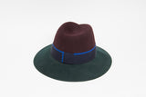 COLORBLOCK WIDE BRIM HAT