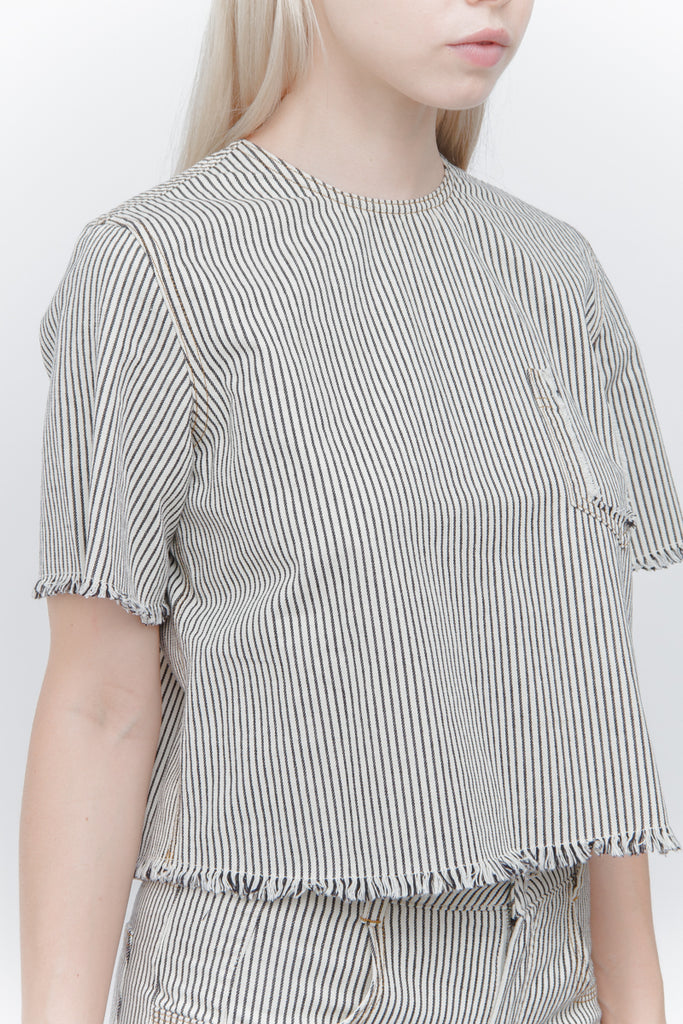 FRINGE STRIPE TOP