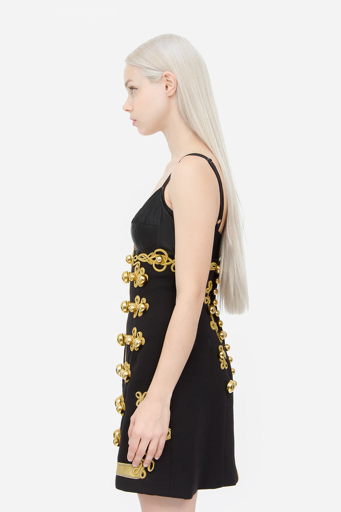 FW 2016 EMBROIDERED MINI DRESS