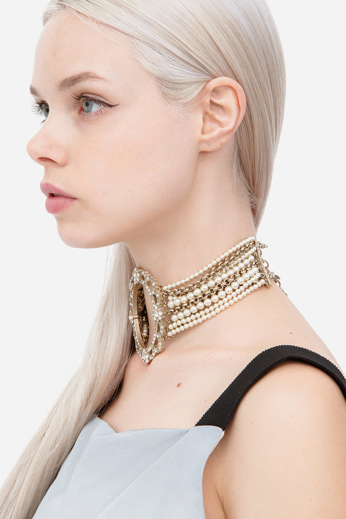 METIERS D'ART FW 2015 CHOKER NECKLACE