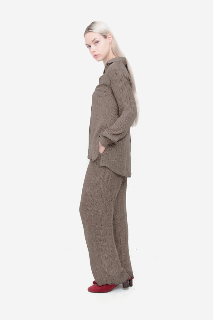 BLANK LABEL HERRINGBONE PANTS