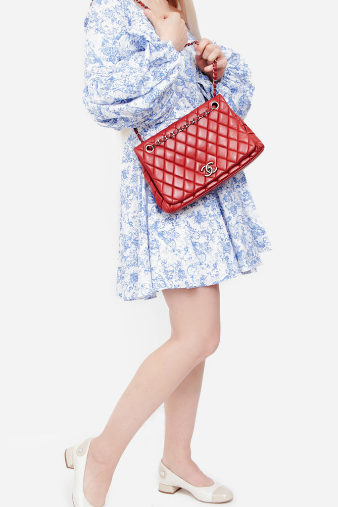 JUMBO FLAP CLASSIC QUILTED BAG