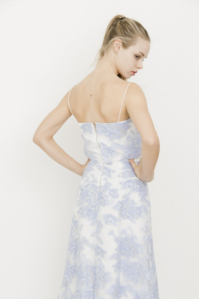 ORGANZA JACQUARD DRESS